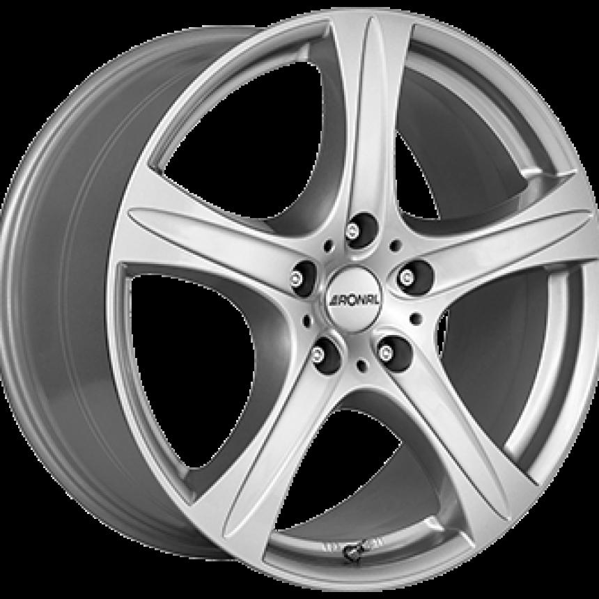 R55 SUV Crystal Silver 8.5x18